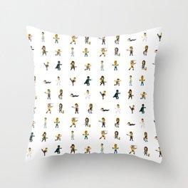 [BadAss Action Heroes] Throw Pillow