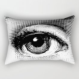 Lina Cavalieri Eye 01 Rectangular Pillow