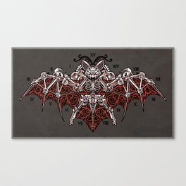 Mecha Bat Canvas Print