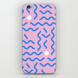 CRAZY RETRO 90s PRINT iPhone Skin
