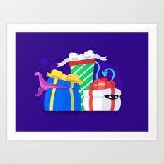 Monster Presents Art Print