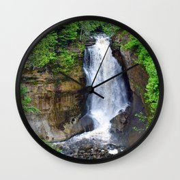 """""""Miners Falls"""" Wall Clock"""