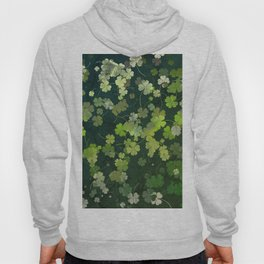 Clover plants pattern Hoody