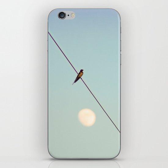 Bird on Wire iPhone & iPod Skin