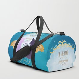 In the name of the moon Duffle Bag