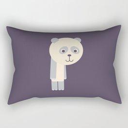 Letter P // Animal Alphabet // Panda Monogram Rectangular Pillow