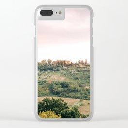 Tuscany III Clear iPhone Case