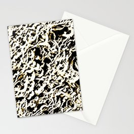 Relief Pattern Abstract Stationery Cards