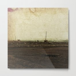 Dawn on the Lake Metal Print