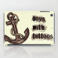 tattoos iPad Cases featuring boys with tattoos by Inphocus Photography