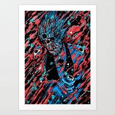 Blood, Matter & Black Holes Art Print