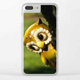 Harvey the Owl II Clear iPhone Case