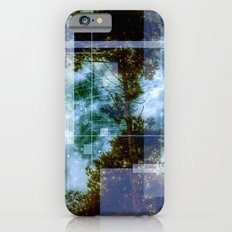 forest memories Abstract Blue Fire Slim Case iPhone 6s
