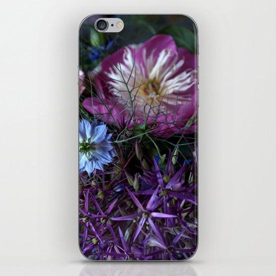 Purple Love Clusters iPhone & iPod Skin