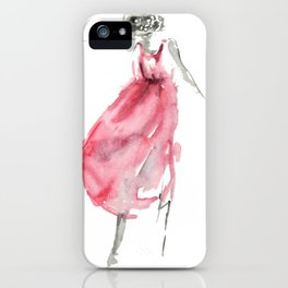 She's Dancing iPhone Case