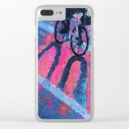 Wild and Fluorescent Clear iPhone Case