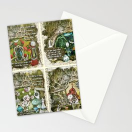 Alice of Wonderland Series 2 Stationery Cards