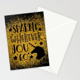 Sparkle Wherever You Stationery Cards