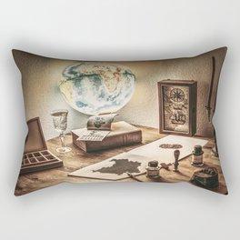 A vintage place. Rectangular Pillow