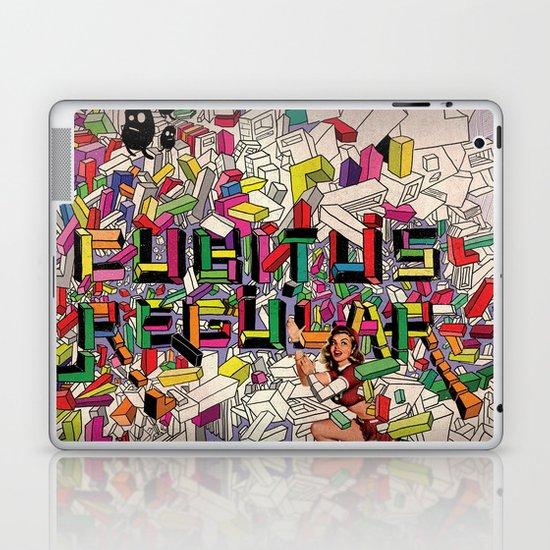 cubus Laptop & iPad Skin