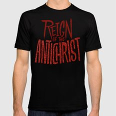 Reign of the Antichrist Black SMALL Mens Fitted Tee