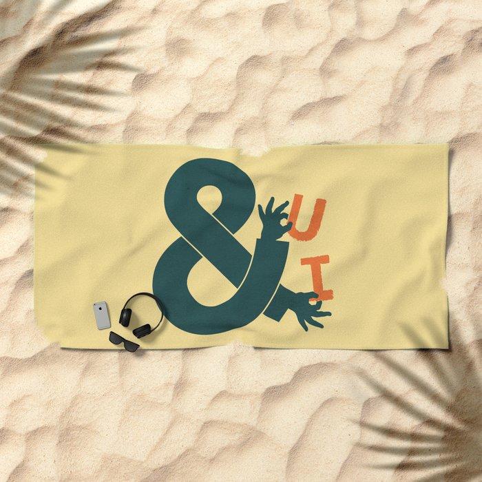 You and I Beach Towel