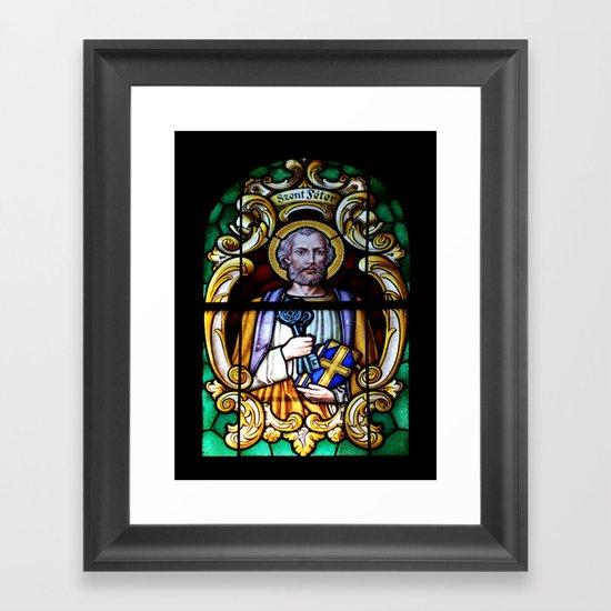 St. Peter Framed Art Print