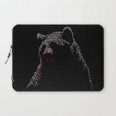 Vampire Bear Laptop Sleeve