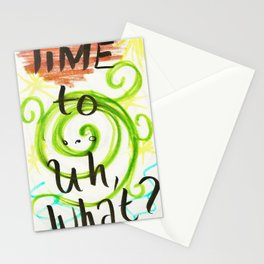 Time To... Stationery Cards