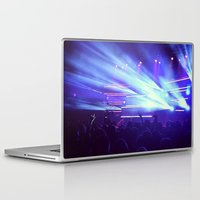 concert Laptop & iPad Skins featuring Concert Lights by Tyler Shaffer