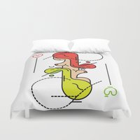 queen Duvet Covers featuring Queen by Hugo Portinha