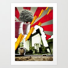 Vive La Vie Art Print