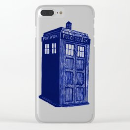 T.A.R.D.I.S. Clear iPhone Case