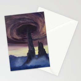 The Vortex - A Borderlands 2 Inspired Oil Painting Stationery Cards