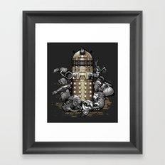 Exterminated! Framed Art Print