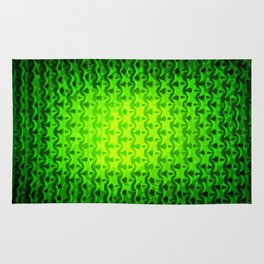 Emerald Abstraction Rug