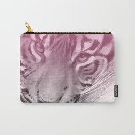 Tiger - Pink Carry-All Pouch