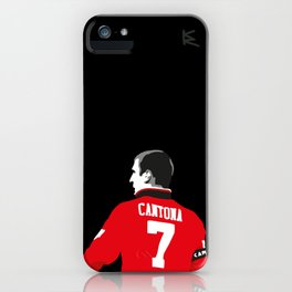 Eric Cantona iPhone Case