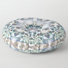 Flower of Life Mandalas 1 Floor Pillow