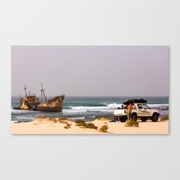 surfEXPLORE Mauritania Canvas Print