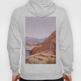 Hans Gude Painting -  Landskap Ved Stavern 1884  | Reproduction | Norwegian Art Hoody