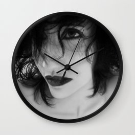 The Realm In-between - Self Portrait Wall Clock