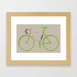 Training Wheels Framed Art Print