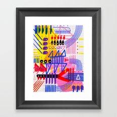 Sinfonia das Cores 1 Framed Art Print
