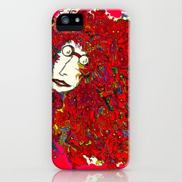Moon Man iPhone Case