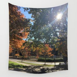A Fall Day Somewhere in Ohio Wall Tapestry