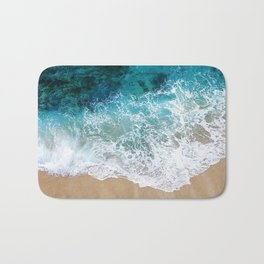 Ocean Waves I Bath Mat