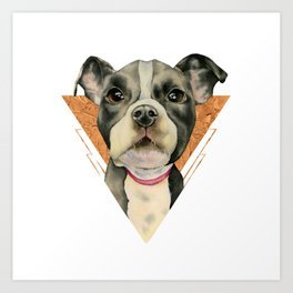 Puppy Eyes 5 Art Print