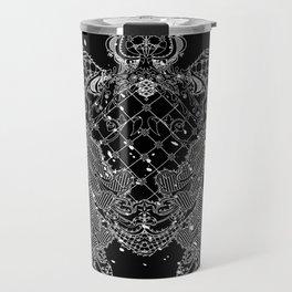 Sea turtle made of precious lace Travel Mug