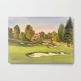 Pasatiempo Golf Course Hole 3 Santa Cruz Metal Print